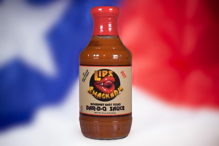 Lips Smacker's Gourmet East Texas Bar-B-Q Sauce (Hot)
