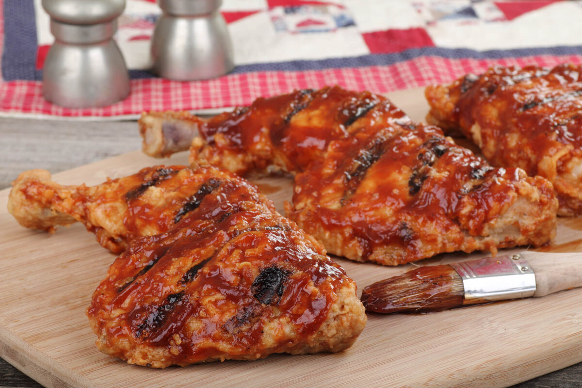 Grilled Bar-B-Q Chicken